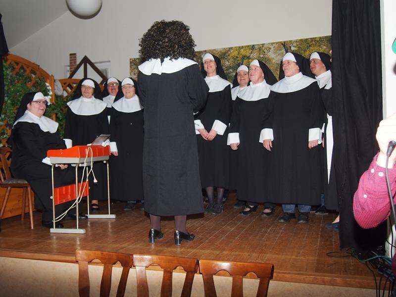 Auftritt der Landfrauen beim Dorfabend am 11.03.2017