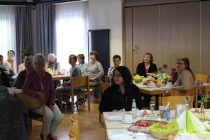 Frauenfrühstück in der Kulturhalle Ziegenhain