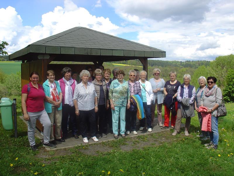 Nachbarschaftstreffen, Landfrauen aus Oberaula in Sachsenhausen