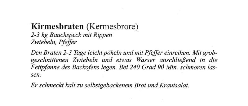 Kirmesbraten