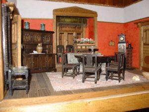 Puppenhausmuseum, Wohnzimmer