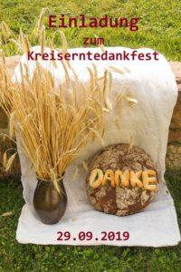 Einladung Kreiserntedankfest