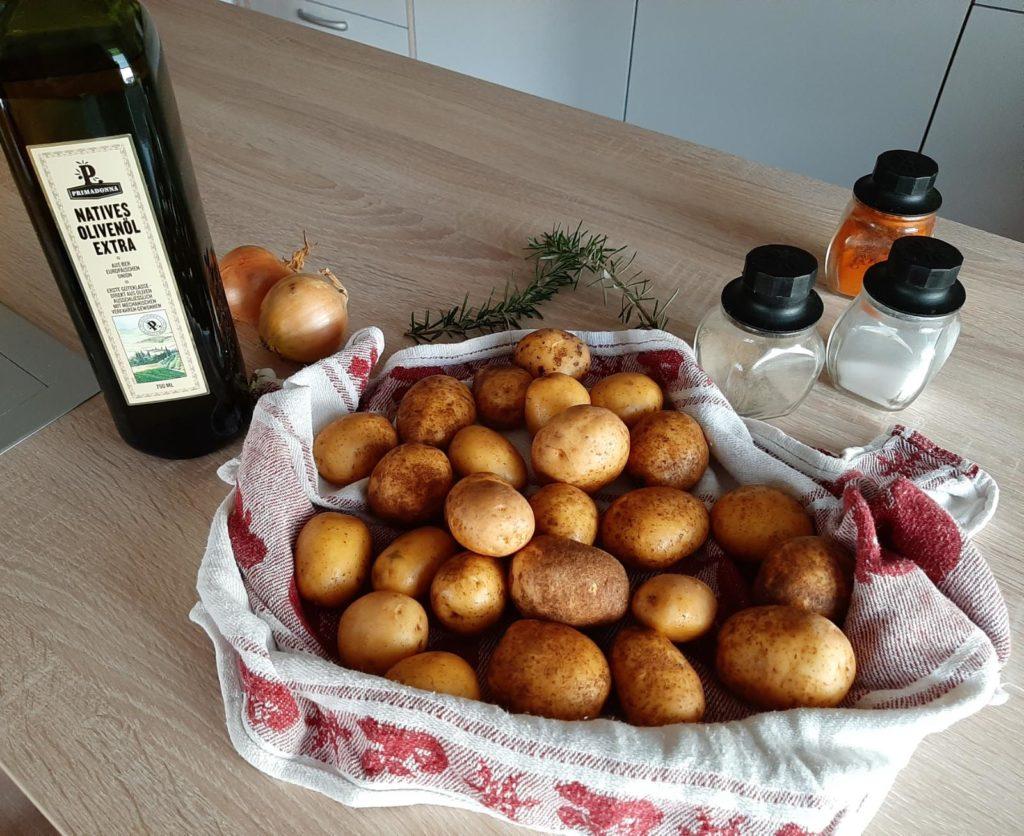 Ofenkartoffeln Zutaten